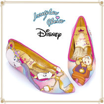 Disney Casual Style Collaboration Pointed Toe Shoes