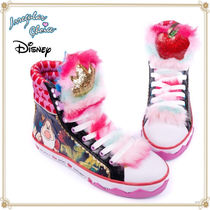 Disney Round Toe Casual Style Collaboration Low-Top Sneakers