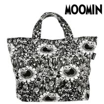 Moomin Casual Style Unisex Canvas A4 Totes