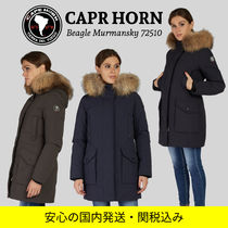 CAPE HORN Nylon Plain Medium Long Parkas
