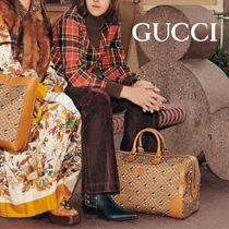 GUCCI Unisex Collaboration Carry-on Luggage & Travel Bags