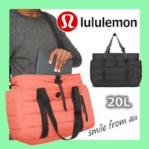 lululemon Casual Style Unisex Plain Office Style Shoulder Bags