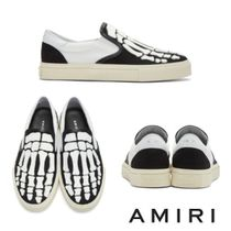 AMIRI Street Style Bi-color Leather Loafers & Slip-ons