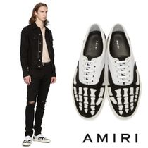 AMIRI Suede Street Style Bi-color Leather Sneakers
