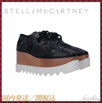 Stella McCartney ELYSE Star Lace-up Casual Style Plain Low-Top Sneakers