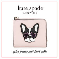 kate spade new york sylvia Other Animal Patterns Leather Folding Wallets