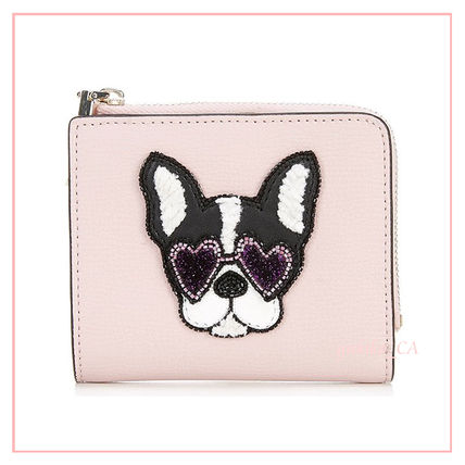 Other Animal Patterns Leather Folding Wallet Logo