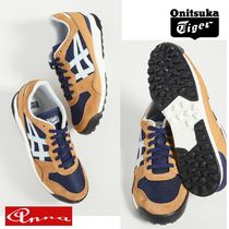Onitsuka Tiger Suede Blended Fabrics Street Style Plain PVC Clothing