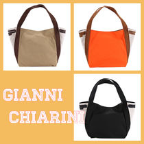 GIANNI CHIARINI Plain Handbags