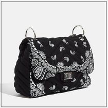 SKINNYDIP Paisley Casual Style Chain Elegant Style Shoulder Bags