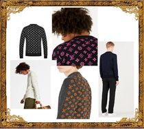 Louis Vuitton Unisex Cashmere Long Sleeves Knits & Sweaters