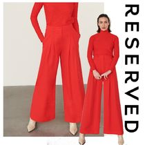 RESERVED Casual Style Plain Elegant Style Culottes
