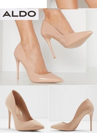 Plain Pin Heels Party Style Office Style