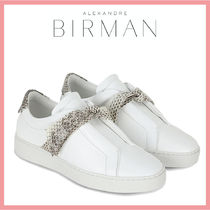 Alexandre Birman Casual Style Leather Office Style Python Elegant Style