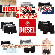 DIESEL Cotton Co-ord Logo Trunks & Boxers