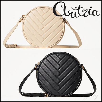 [Aritzia / Auxiliary] Leather Canteen Bag