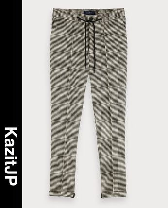 Printed Pants Zigzag Patterned Pants