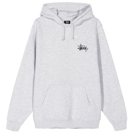 STUSSY Hoodies Pullovers Blended Fabrics Street Style Long Sleeves Plain 9