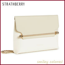 STRATHBERRY Casual Style Leather Elegant Style Crossbody Shoulder Bags