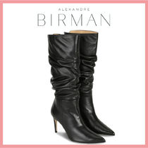 Alexandre Birman Casual Style Leather Pin Heels Party Style Office Style