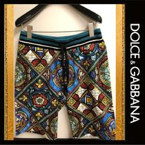 Dolce & Gabbana Cotton Joggers Shorts