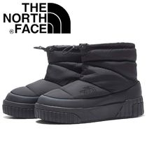 THE NORTH FACE Plain Toe Casual Style Unisex Faux Fur Street Style Plain