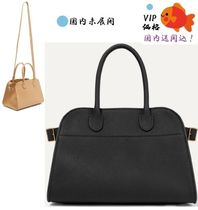 The Row Leather Elegant Style Handbags
