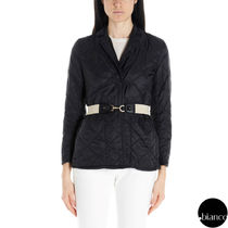 MaxMara Short Nylon Plain Down Jackets