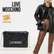 Love Moschino Plain Shoulder Bags