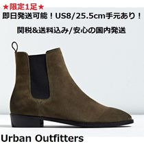Urban Outfitters Suede Plain Boots