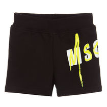MSGM Unisex Street Style Baby Girl Bottoms