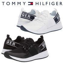 Tommy Hilfiger Round Toe Lace-up Casual Style Street Style Plain
