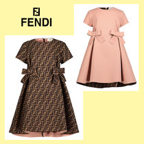 FENDI Petit Kids Girl Dresses