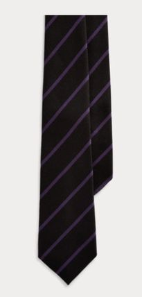 Stripes Cashmere Silk Ties