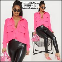 PrettyLittleThing Casual Style Long Sleeves Medium Party Style Office Style