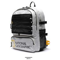 NATIONAL GEOGRAPHIC Unisex Street Style Plain Logo Backpacks
