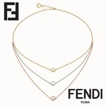 FENDI F IS FENDI Chain Necklaces & Pendants