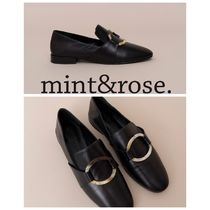 mint&rose. Leather Loafer & Moccasin Shoes