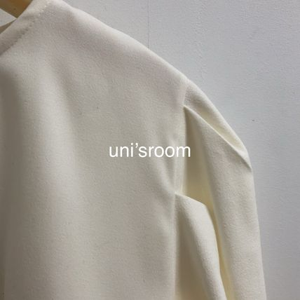 Shirts & Blouses Casual Style Puffed Sleeves Long Sleeves Plain Medium 12