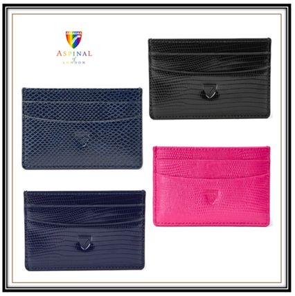 Unisex Plain Other Animal Patterns Leather Small Wallet Logo