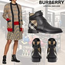 Burberry Tartan Other Check Patterns Casual Style Blended Fabrics