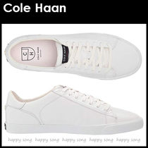 Cole Haan Lace-up Casual Style Street Style Plain Leather