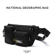NATIONAL GEOGRAPHIC Unisex Street Style Plain Logo Hip Packs