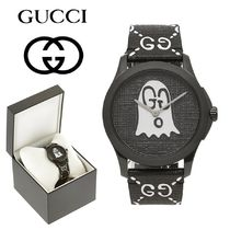 GUCCI Gucci Ghost Unisex Street Style Quartz Watches Analog Watches