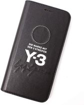 Y-3 Unisex Street Style Leather Smart Phone Cases