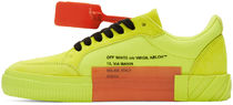 Off-White Suede Blended Fabrics Sneakers