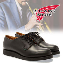 RED WING Street Style Plain Leather Oxfords