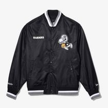 New Era Short Unisex Collaboration Logo Varsity Jackets