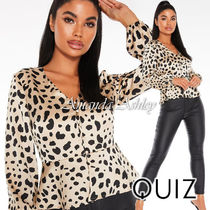 Quiz Long Sleeves Other Animal Patterns Medium Party Style