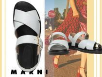 MARNI Collaboration Leather Sandals Sandal